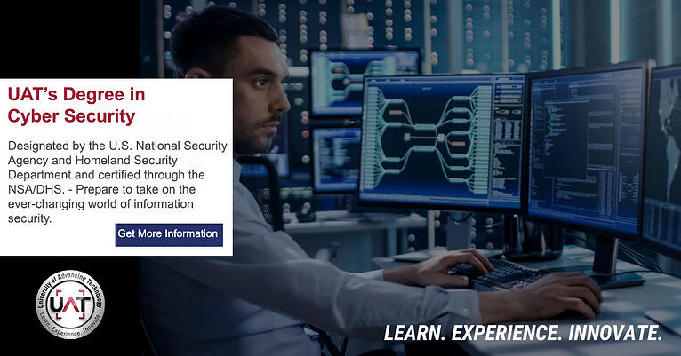 University of Advancing Technology Cyber Security student