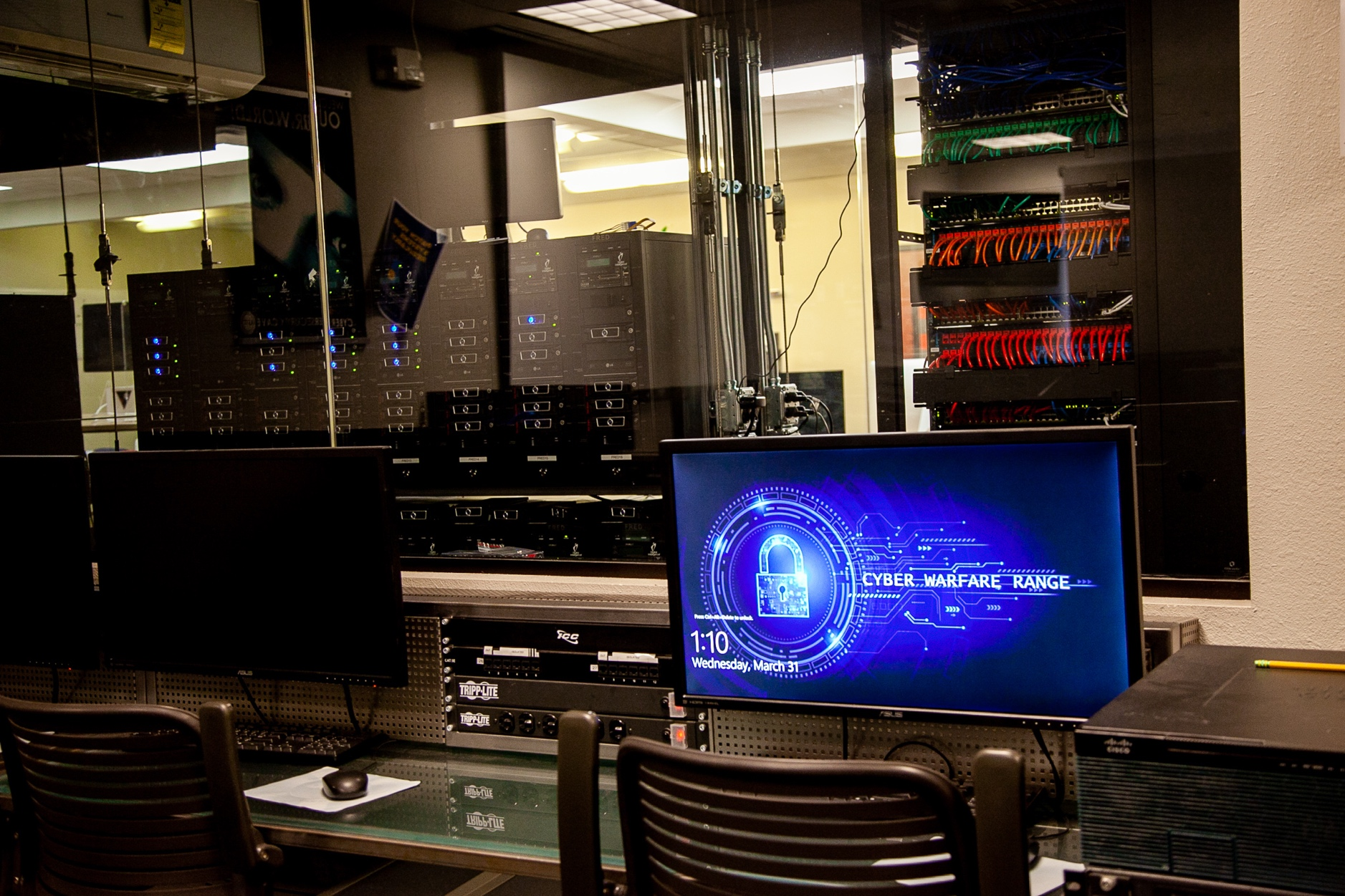 Cyber Security Cave at UAT