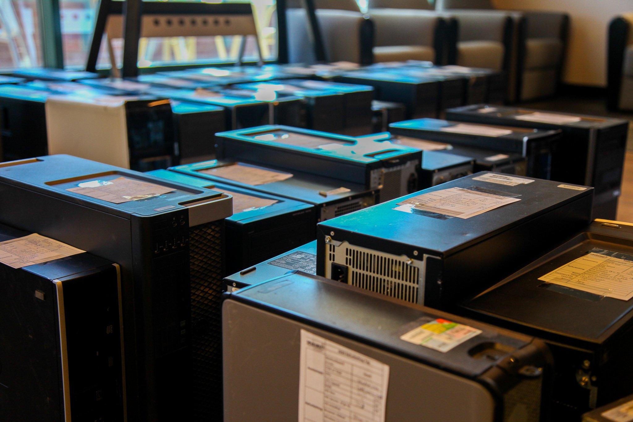 121 computers were refurbished for AZ StRUT.