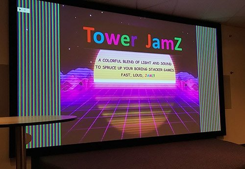 Tower Jamz stacker game