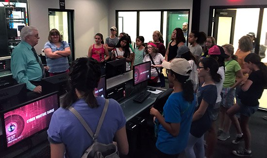 UAT Hosts STEM Workshops in Partnership with New Girl Scout Summer Camp
