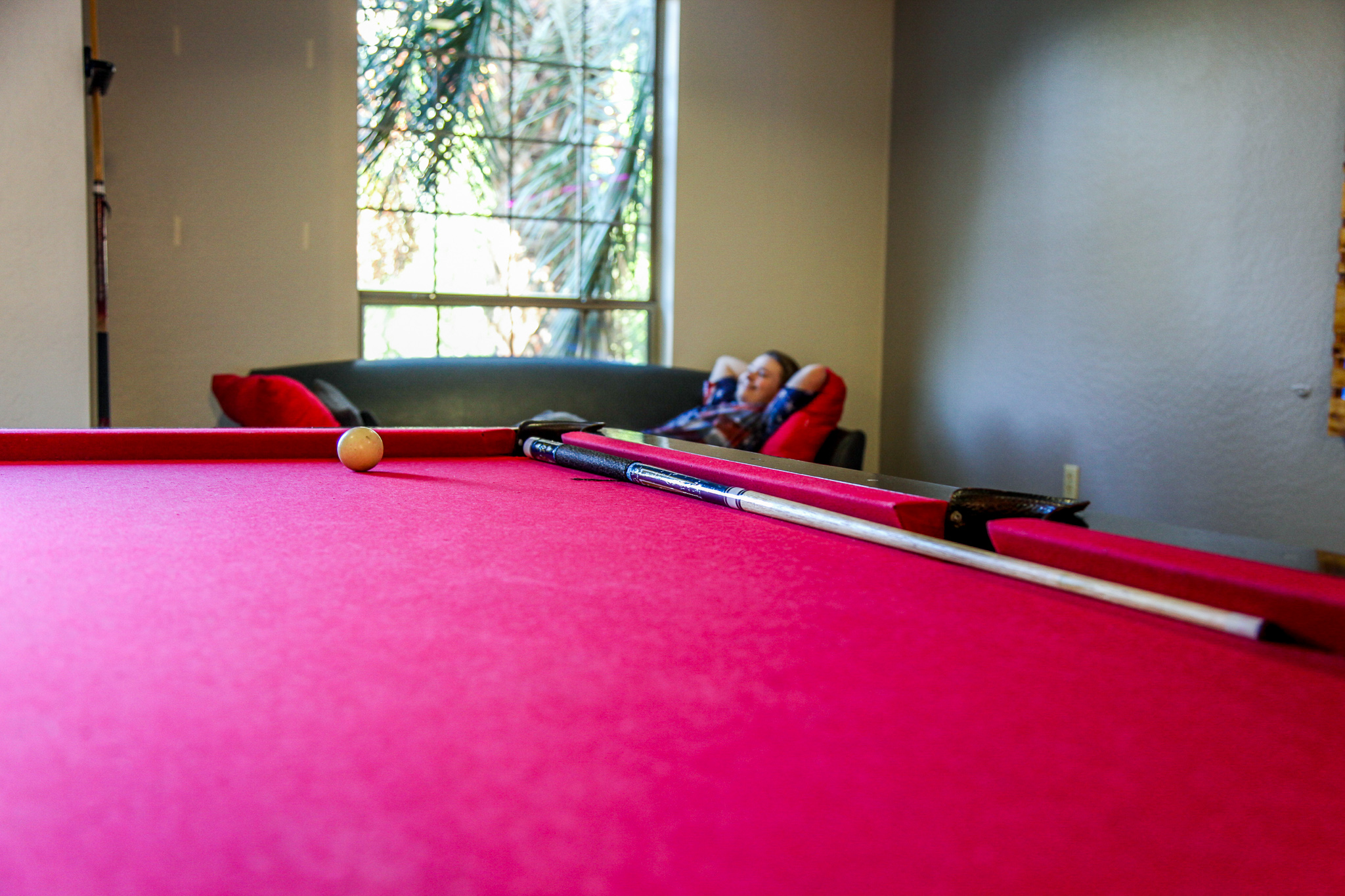 Social Distancing Pool Table